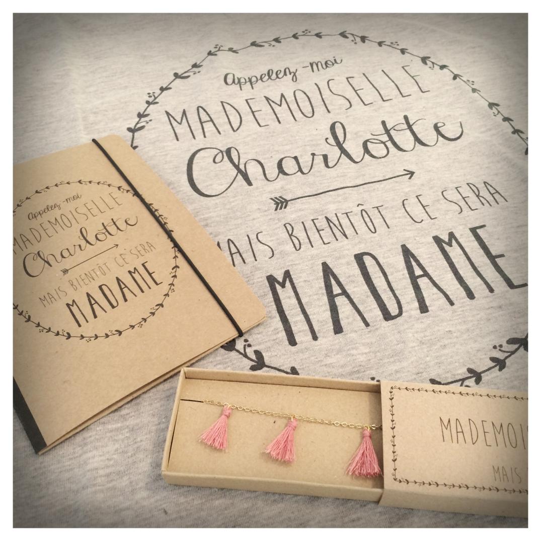 cadeau personnalise pour future mariee